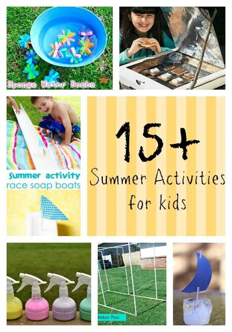 15+ Summer Activities For Kids  I Heart Nap Time