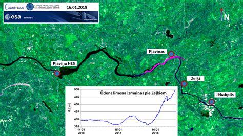 Ledus sastrēgums Daugavā pie Zeļķiem var appludināt ...