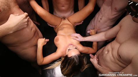 Gangbang Creampie Hot Young Thang Gets Gngbng Porn