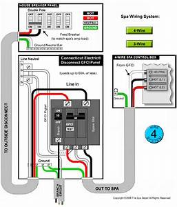 4 Wire Spa Wiring Diagram