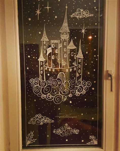 Weihnachtsdeko Fenster Kreidemarker by Weihnachten Fensterdeko Kreidemarker Advent