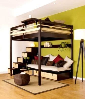 Loft Bed With Sofa Underneath 20 ideas to create a therapeutic living room friendship