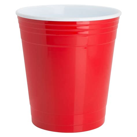 Red Party Cup Waste Basket - The Green Head