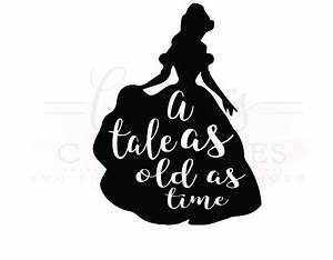 88+ Beauty And The Beast Clipart Silhouette - Beauty And