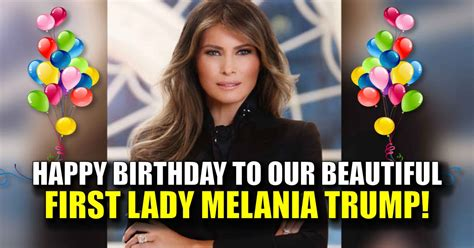 Trump says he's been too busy to get Melania a birthday present - CNNPolitics