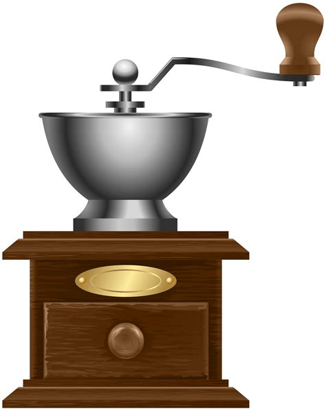 vintage coffee mill transparent png clip art gallery