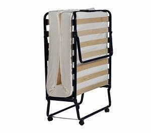 Lits D Appoint : lit d 39 appoint pliant 90x190 matelas ~ Premium-room.com Idées de Décoration