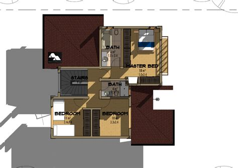 bedroom juja edge house plan david chola architect