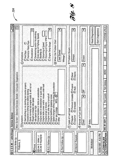 Patent US6609050 - Vehicle warranty and repair computer