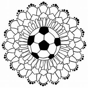 """Soccer Mandala"" by schnellbee Redbubble"