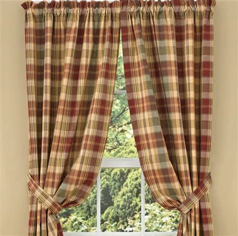 country panel curtains saffron lined panels