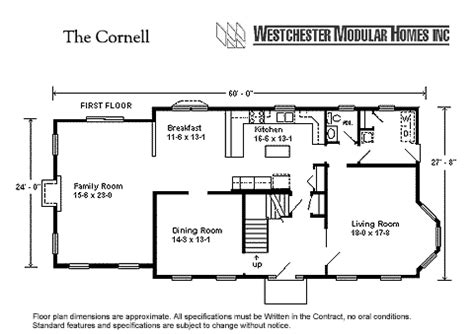 ranch style homes with open floor plans cornell by westchester modular homes two floorplan