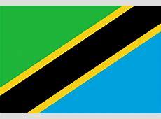 Tanzanie Drapeaux des pays