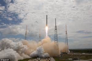Falcon 9: History to be made with first commercial space ...