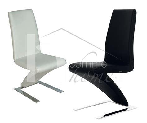 chaise h et h chaise pu noir pu blanc moselle zd1 c d ec 127 jpg