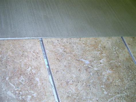 need advice on concrete shower pan no tile ceramic