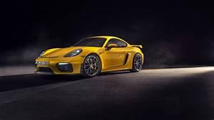 Porsche 718 Cayman GT4 2019 4K Wallpaper HD Car