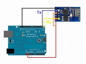 Esp8266 Connection On Arduino Rx    Tx Ports   Ports 0    1