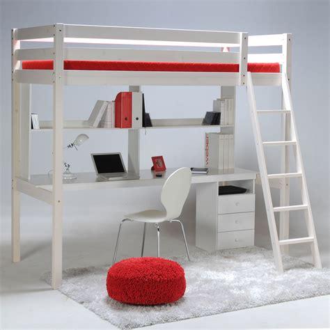 bureau mezzanine ikea lit mezzanine sapin 90x190cm sommier bureau et caisson