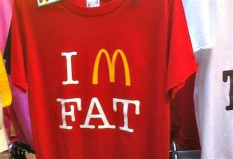Funny Sofas by Quot I M Fat Mcdonalds Parody Quot T Shirts Amp Hoodies By
