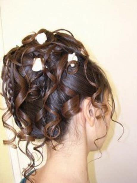 coiffure chignon boucl 233