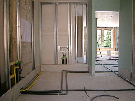 pareti interne in cartongesso tecnologia a secco cartongesso e gessofibra sofit