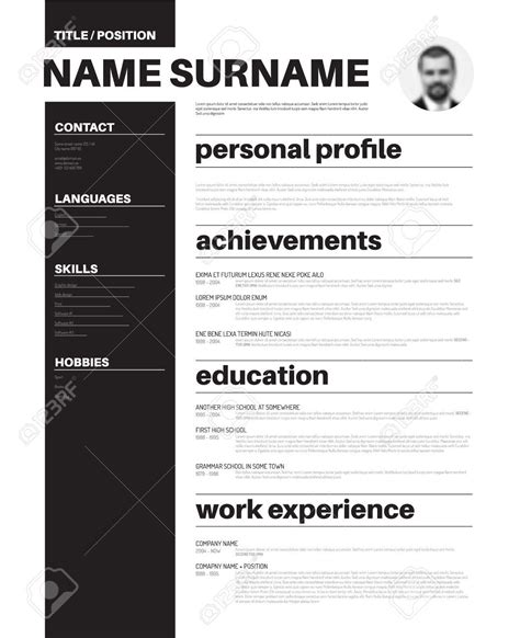 Simple Resume Format Sle by Sle Resume Layout 28 Images Format For Business Letter