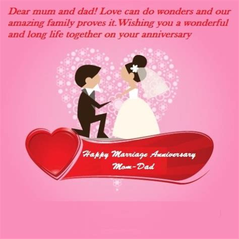 happy marriage anniversary wishes  mom dad  wishes