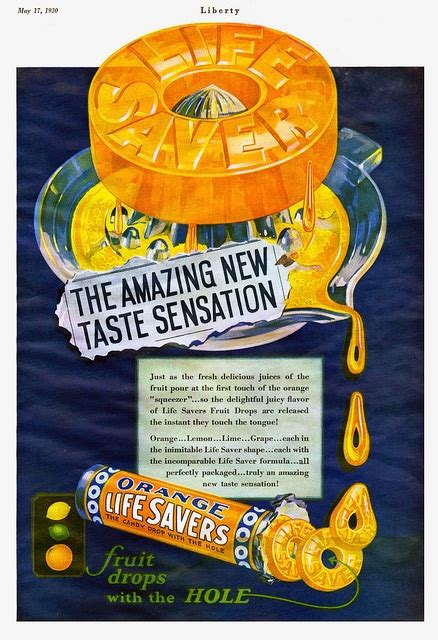 Lifesavers Candy Vintage Ads