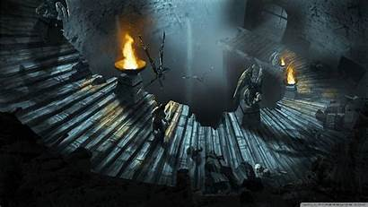 Wallpapers Dragons Dungeons Cave Dd