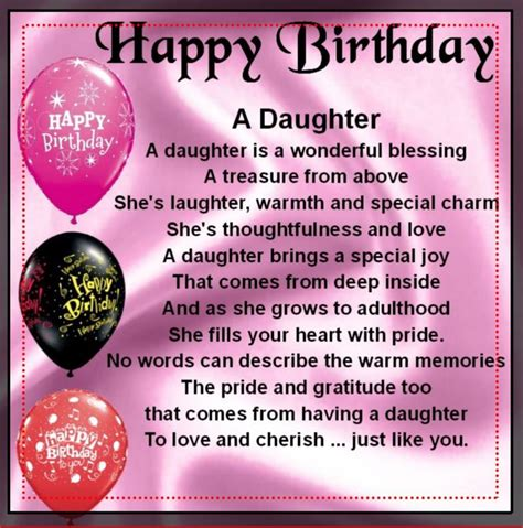 Birthday Quotes 20 Year Old Daughter