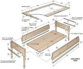 Display Coffee Table Plans diywoodtableplans