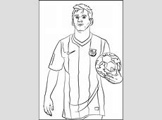 lionel messi soccer player coloring sheet sport coloring