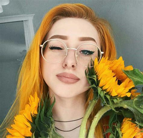 Pin↠ Eeliah Dyed Hair Yellow Hair Hair