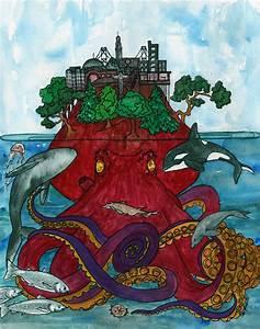 Octopus, Home, Print
