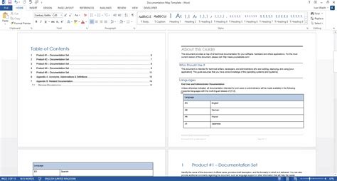 product document map template ms word templates forms
