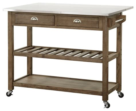kitchen island cart with drop leaf drop leaf stainless steel kitchen cart farmhouse