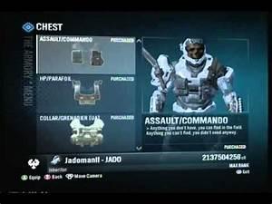 Halo Reach :: All Armor| 2 Billion cr| Max Rank!! + Master ...
