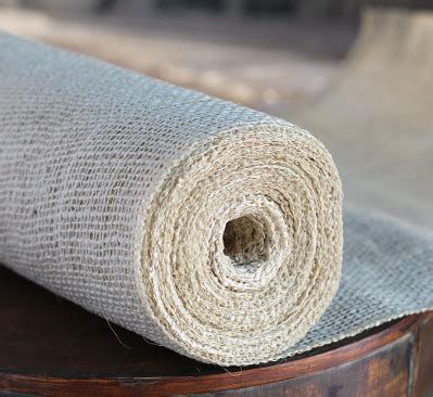 ivory burlap table runner roll     yards high