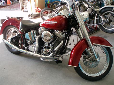 Vintage Motorcycle Photos, Classic Harley Davidson