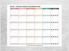 7+ Social Media Schedule Templates Free Sample, Example