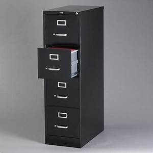 filing cabinet file storage hirsh industries 4 drawer With hirsh industries 4 drawer letter file cabinet in black