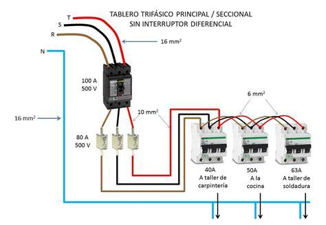 circuito electrico domiciliario con diferencial sanea maniobra y protecci 211 n de las