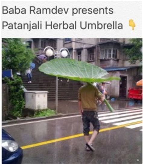 baba ramdevs patanjali herbal umbrella facelaptop