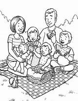 Coloring Pages Colouring Picnic Holiday Clipart Drawing Printable Netart Families Addams Everfreecoloring Wombles Jls Getcolorings Wishes Help Trending Days Last sketch template
