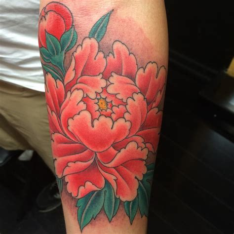 japanese peony tattoos askideascom