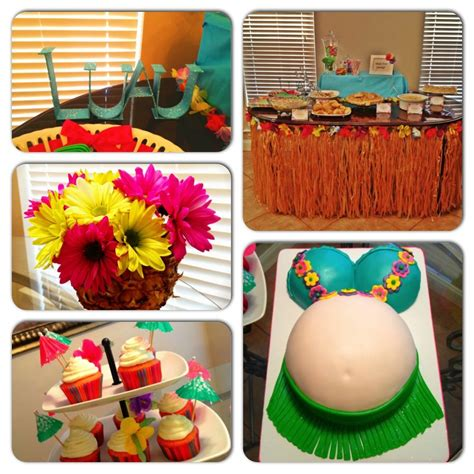 Luau Baby Shower Favors - this is totally and for summer luau