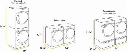 Washer Clothes Dryer Sizes Google Standard Kitchen