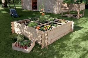 Mini Potager En Bois : am nager un carr potager dans son jardin entretenez et ~ Premium-room.com Idées de Décoration