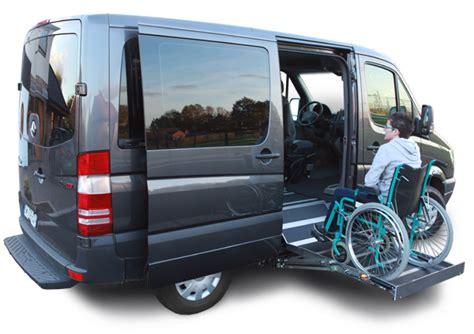 mercedes sprinter 32n lateralaccess handicap acc 232 s fauteuil roulant 224 l avant